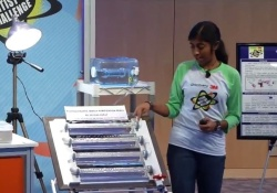 Школьница создала совершенную установку для дезинфекции питьевой воды