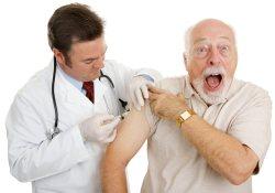 В Великобритании началась массовая вакцинация стариков от опоясывающего лишая