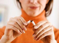 Прогулки помогут бросить курить