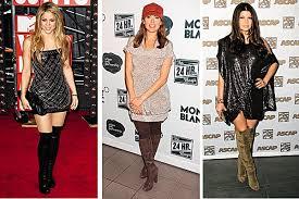 Правильный выбор обуви к определенному цвету платья