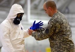 Пентагон обнародовал промежуточный отчет о результатах борьбы с лихорадкой Эбола