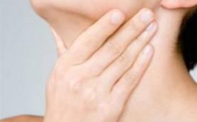 Основные симптомы рака горла и рака щитовидной железы