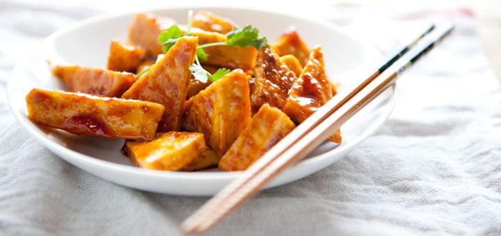 Блюда из тофу
