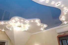Многоуровневые натяжные потолки / Один, два, а может три?