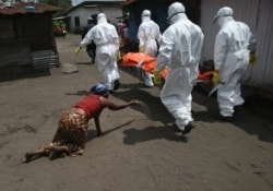 Возвращение вируса Эбола в Либерию вызвало протест медиков