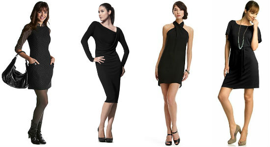 Маленькое черное платье: какой фасон выбрать