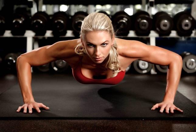 Спортивное питание и женский организм