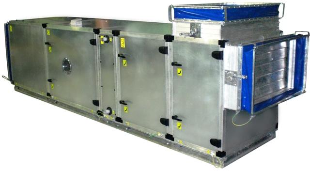 Моноблочная и наборная конструкция систем вентиляции