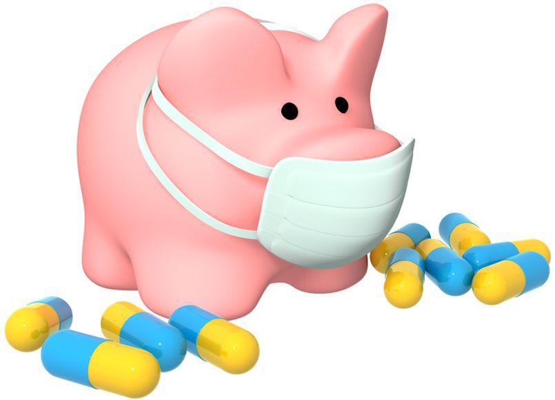 Медики опасаются эпидемии свиного гриппа в РФ