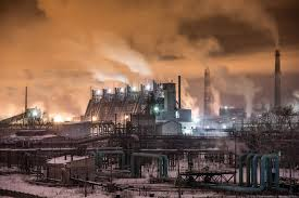История металлургии: Газовые печи