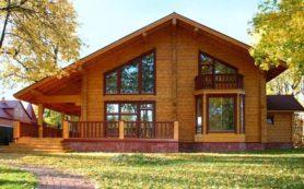 Красота дома из профилированного бруса