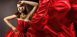 Красное платье добавит уверенности в себе