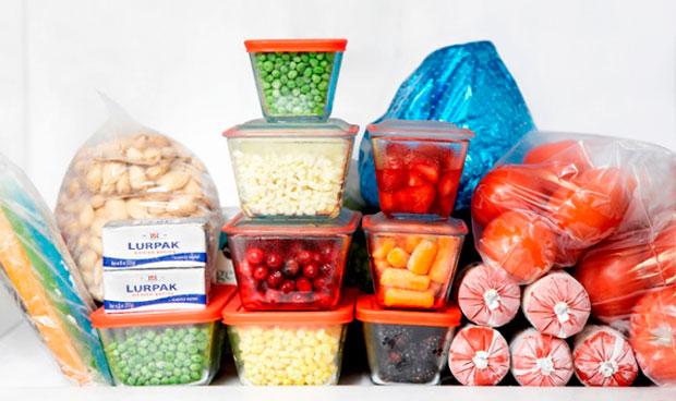 Варианты хранения заготовок: заморозка