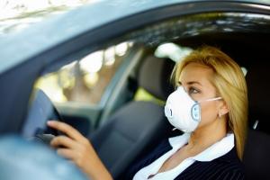Загрязненный воздух приводит к закупорке легочных сосудов