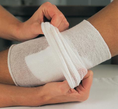 Повязка «покажет» наличие инфекции в ране