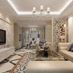 Интерьер гостиной в стиле неоклассика