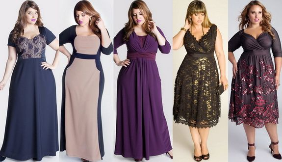 На что обратить внимание при выборе платья для пышных форм?
