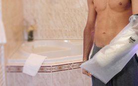 Как использовать чехол для гипса на руку для защиты от воды