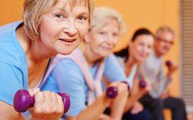 Силовые тренировки улучшат состояние пожилых людей