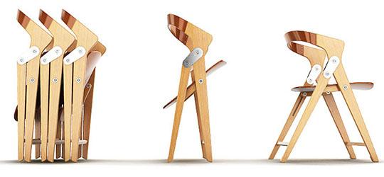 Преимущества раскладных стульев