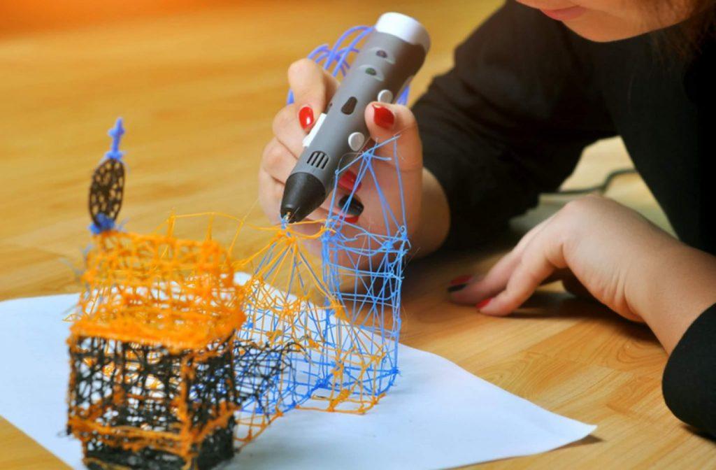 Как работает 3D ручка