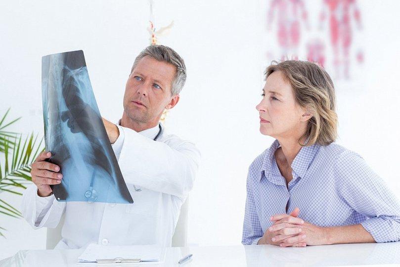 Воспаление легочной ткани при лучевой терапии