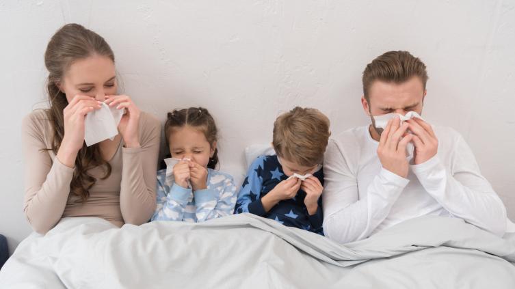 Как отличить первые симптомы аллергии от ОРВИ?