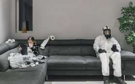 Как избежать заражения, если вы живете с больным ковидом